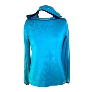 The North Face Vapor Wick Teal Hoodie
